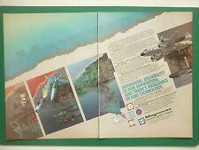 10/1986 PUB MAGNAVOX ELECTRONIC WARFARE ELECTRO OPTICAL SYSTEMS ORIGINAL AD