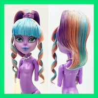 Monster High River Styxx Doll Hair Styled Nude for OOAK