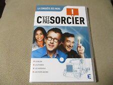 """DVD NF """"C'EST PAS SORCIER - LA CONQUETE DES MERS"""" Fred & et Jamy"""