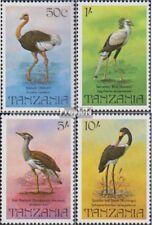 tanzanie 193-196 (complète edition) neuf avec gomme originale 1982 Oiseaux