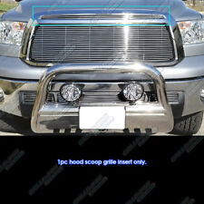 Fits 2010-2013 Toyota Tundra Hood Scoop Billet Grille Grill Insert