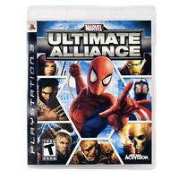 Marvel Ultimate Alliance (2006) - Sony PlayStation 3 PS3 Action RPG Video Game