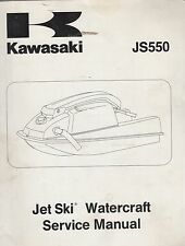 1982-1983 KAWASAKI  PERSONAL WATERCRAFT JS550 99963-0051-03 SERVICE MANUAL (706)