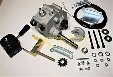"""Universal Go Kart Forward Reverse Gear Box Fit  3/4"""" TAV2 30 40 41 12T 10T #35"""