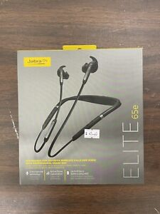 Jabra Elite 65e Stereo Neckband with In-Ear Noise Cancellation - Titanium Black