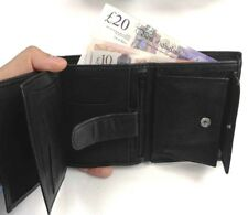 Original Leather Men Luxury Soft Quality  Wallet Purse Credit Cards Coins