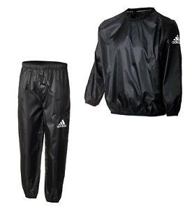 adidas Schwitzanzug - Sauna Suit - Trainingsanzug Gewicht machen - Schwitz Anzug