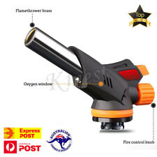 Cooking Butane Gas Torch Lighter Kitchen BBQ Rotating Spray Fire Lgnition Tool