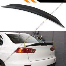 For 08-17 Mitsubishi Lancer EVO 10 Duckbill Highkick Carbon Fiber Trunk Spoiler