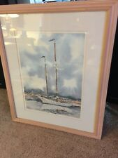 Limited Edition Print -  Matted and Framed -  Numbered and Double Signed !