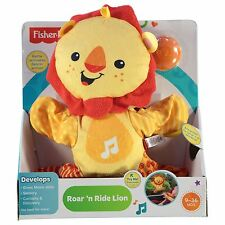 NEW - Fisher Price Toy - Roar 'n Ride Lion - Baby Electronic Music and Dancing