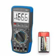 Digital Multimeter Stromspannung Gleichstrom Diode hEF Test DWELL Tachometer DE