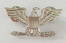 USA ARMY AIRFORCE COLONEL EAGLE WAR BIRD DEVICE PIN BADGE INSIGNIA right mouth