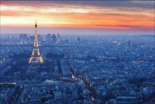 Quadro su pannello in legno MDF Tour Eiffel Parigi Misura 90x60 CM