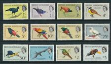 British Honduras 1962 Birds - Animal Kingdom SG 202-13 MNH
