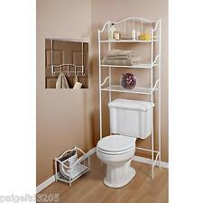 Essential Home 3-Piece Bathroom Bath Set - White Finish