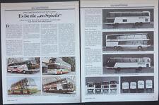 MODELLBAU NEOPLAN Jetliner, Spaceliner, Skyliner, BUS-MODELLE..ein Modellbericht