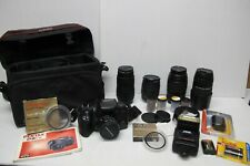 Pentax P-Z-1P 33mm Film Camera w/Lenses & Accessories~Tamron~Canon~ Sakar~Sigma