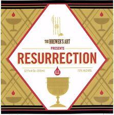 Brewer's Art Resurrection sticker craft beer Baltimore MD Belgian-Style