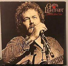 """Gordon Lightfoot signed Dream Street Rose 12""""  LP"""