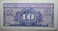 US Military Payment Certificate Series 591 Ten Cents 10 United States 1961-1964