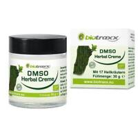 Biotraxx Dimethylsulfoxid - DMSO Herbal Creme mit Magnesiumöl, 30g. Deutschland