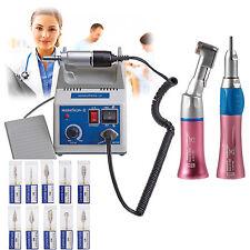 Dentaire Lab MARATHON micromoteur polisseur N3 + 2x Handpiece E-type +10*Burs CE