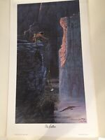 """Julie Kramer Cole Print """"THE FEATHER"""" Limited Edition No. 64/285 Artist Proof"""