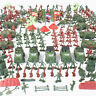 307/100Pc Action Figures Military Boy Army Men Soldier Sand Scene Fashion Model