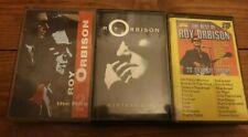 Roy orbison Tape Cassettes X3 Mystery Girl Best Of Hits 2