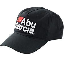 Abu Garcia 3D Logo (JDM) Fishing Hat Cap - Black