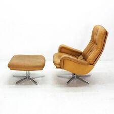deSede DS-50 Lounge Chair mit Fußhocker, 60er Jahre