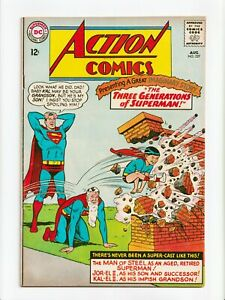 Action Comics #327 Silver Age Superman DC Comics 1965