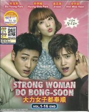 STRONG WOMAN DO BONG-SOON - COMPLETE KOREAN TV SERIES DVD (1-16 EPS) (ENG SUB)