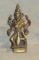 Antique TraditionalIndian RitualBronze Statue Goddess Parvati Rare #3