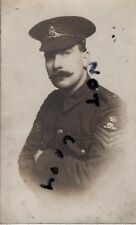 WW1 Soldier Battery Sergeant Major Royal Artillery Territorial Hull photographer