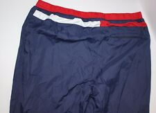 Tommy Hilfiger - Vintage Windbreaker Nylon Sweat Pants - Red White And Blue Flag
