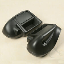 Lower Vented Leg Fairing Glove Box For Harley Road King Electra Glide 2014-2018