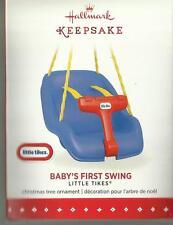 Hallmark Ornament Christmas Baby's First Swing Little Tikes 2015 New MIB