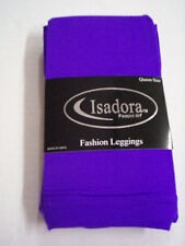 Ladies Leggings, Queen Size, Purple By Isadora, Brand New