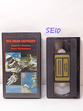 The NASA ODYSSEY AMERICA'S GREATEST SPACE ACHIEVEMENTS VHS 1986 STARBOUND ENT.