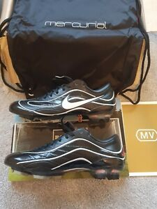 "Nike Mercurial Vapor III MV R9 FG ""10 Year Anniversary Edition"" UK Size 7"
