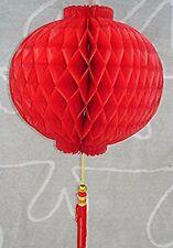 CHINESE XXL 32cm RED PVC PALACE LANTERN WEDDING BIRTHDAY GARDEN JAPANESE PARTY