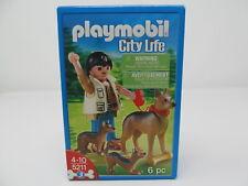 Playmobil German Shepherd with Puppies City Life set 5211 new sealed rare