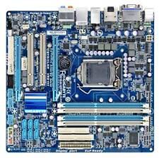 GIGABYTE GA-Q57M-S2H LGA 1156 Intel Mainboard DDR3-1333 HDMI DVI SATA-3 + Blende
