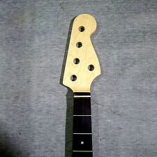 BASS GUITAR NECK ROSEWOOD ON MAPLE 20 FRET, GREAT FOR PROJECT OR REPLACEMENT