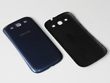 ORIGINAL SAMSUNG GALAXY S3 i9300 i9305 AKKUDECKEL DECKEL BACKCOVER COVER BLAU