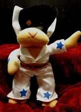 Elvis the King Plush by Good Stuff 8 inches tall sunglasses white jumpsuit