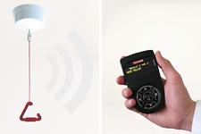 Funk-Personenruf incl Pager-Empfänger mit Display +Vibration | Deckenzugtaster
