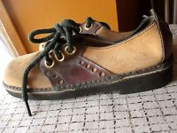 NWOT Vtg 1960's Womens Saddle Shoes by CONNIE Rockabilly BROWN/TAN Sz 5.5 AA M